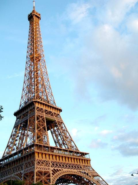 Франция эйфелевая башня париж