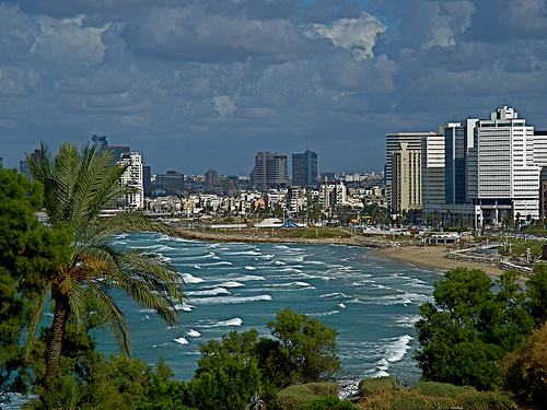 Израиль побережье
