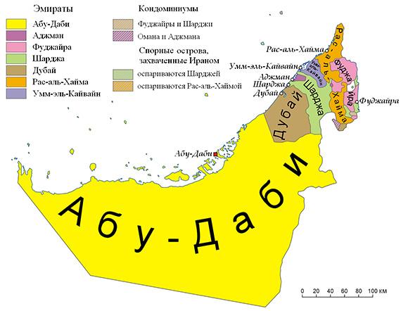 Карта оаэ от мансаны