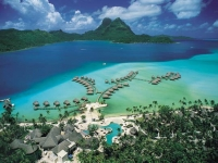 Bora Bora Pearl Beach Resort   SPA - вид на отель