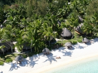 Sofitel Bora Bora Marara Beach and Private Island - пляж сверху
