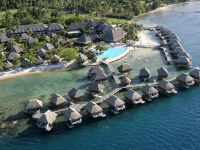 Moorea Pearl Resort   SPA - вид на отель