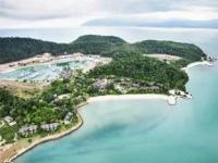 Rebak Island Resort - Вид на отель