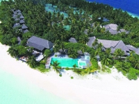 Outrigger Konotta Maldives Resort - общий вид на отель