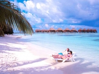 Olhuveli Beach   Spa Resort - пляж