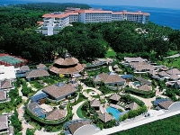 Shangri-Las Mactan Resort   SPA - вид на отель